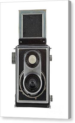 Old Camera Canvas Print by Michal Boubin