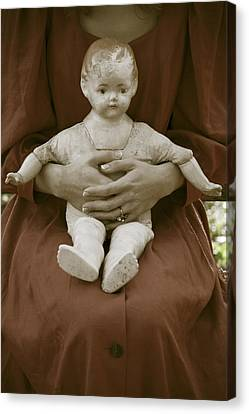 Old Doll Canvas Print by Joana Kruse