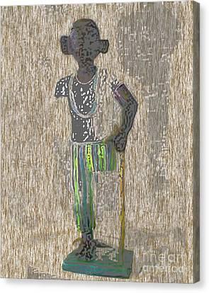 Osain  Canvas Print by Liz Loz