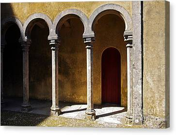 Palace Arch Canvas Print by Carlos Caetano