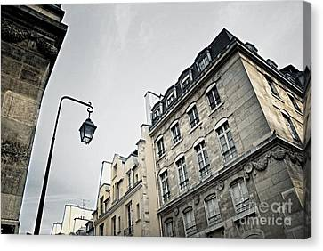 Paris Street Canvas Print by Elena Elisseeva