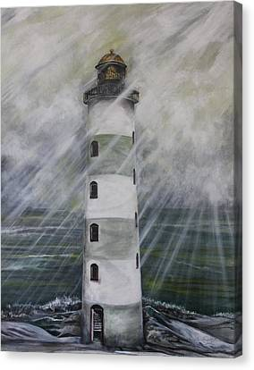 Point Lookout Lighthouse Canvas Print