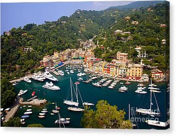 Portofino Canvas Print by Brian Jannsen