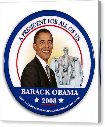 Barack Canvas Print - Presidential Campaign, 2008 by Granger