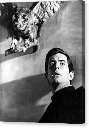 Psycho, Anthony Perkins, 1960 Canvas Print by Everett