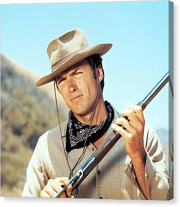 Rawhide, Clint Eastwood, 1959-66 Canvas Print by Everett