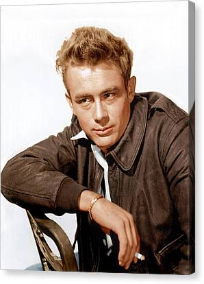 Rebel Without A Cause, James Dean, 1955 Canvas Print