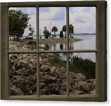 Canvas Print featuring the photograph Room With A View by Randy Sylvia