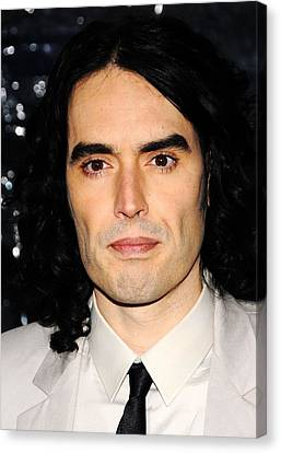 Russell Brand At Arrivals For Arthur Canvas Print by Everett