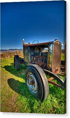 Rusted Hotrod Canvas Print