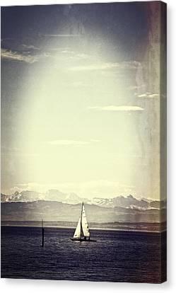 Sailing Boat Canvas Print by Joana Kruse