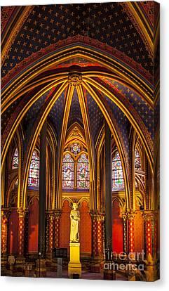 Sainte Chapelle Canvas Print by Brian Jannsen