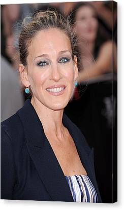 Harry Callahan Canvas Print - Sarah Jessica Parker At Arrivals by Everett