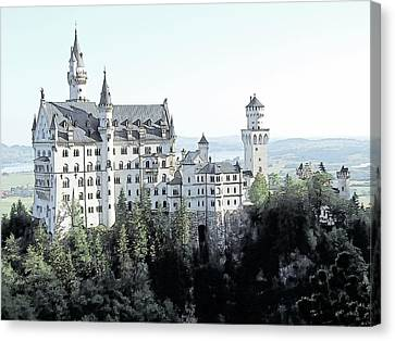 Schloss Neuschwanstein Germany Canvas Print by Joseph Hendrix