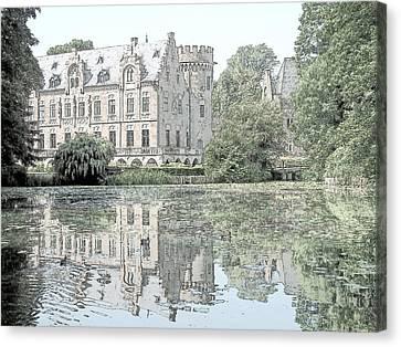 Schloss Paffendorf Germany Canvas Print by Joseph Hendrix
