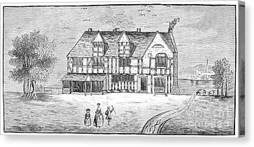 Shakespeare: House Canvas Print
