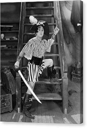 Silent Film Still: Pirates Canvas Print by Granger