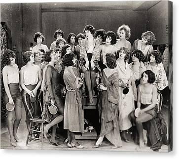 Silent Still: Showgirls Canvas Print by Granger