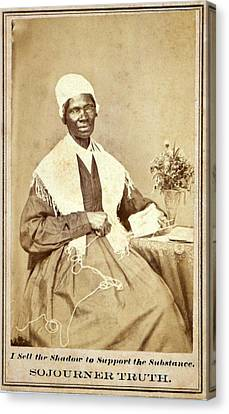 Sojourner Truth 1797-1883 African Canvas Print by Everett