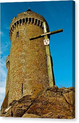 Canvas Print featuring the photograph Solidor And Cross by Elf Evans