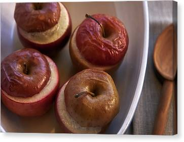 Stuffed Baked Apples Canvas Print by Joana Kruse