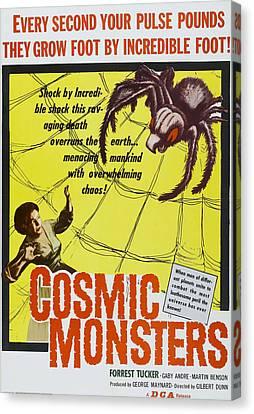 The Cosmic Monster, Aka Cosmic Canvas Print by Everett