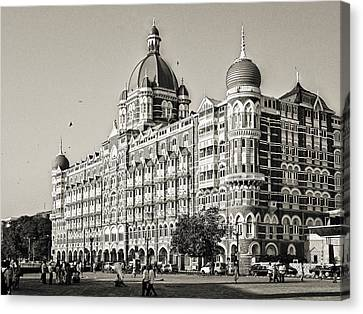 The Taj Mahal Palace Hotel Canvas Print by Benjamin Matthijs