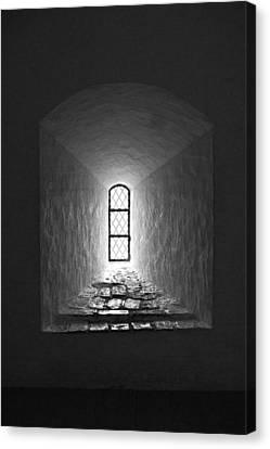 The Window Of The Castle Of Tavastehus Canvas Print by Jouko Lehto