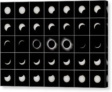 Total Solar Eclipse, 29/03/2006 Canvas Print