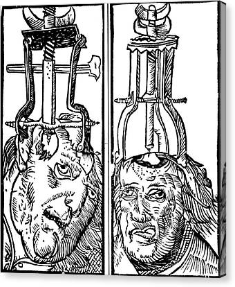 Trepanning 1525 Canvas Print by Science Source