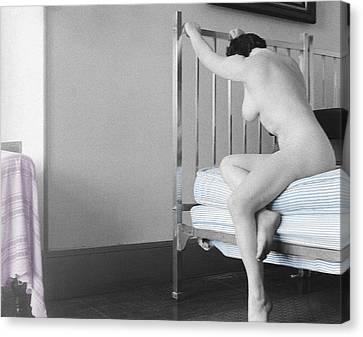 Trumans Bed Canvas Print