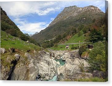 Valle Verzasca - Ticino Canvas Print by Joana Kruse
