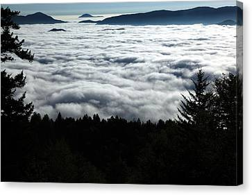Canvas Print featuring the photograph Valley Of The Clouds by Doug McPherson