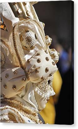 Venise Canvas Print - Venice Carnival by Cedric Darrigrand