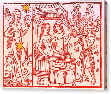Venus, Roman Goddess Of Love Canvas Print by Science Source