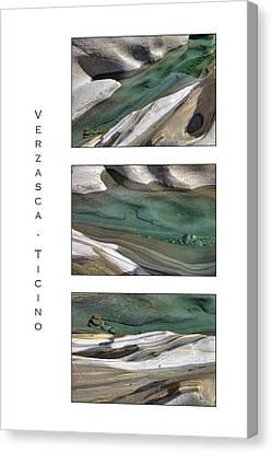 Verzasca Stones Canvas Print by Joana Kruse