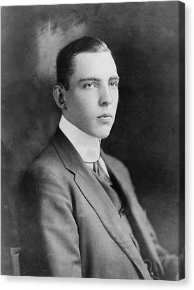 Vincent Astor 1891-1959, Late Husband Canvas Print by Everett