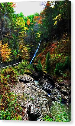Watkins Glen State Park New York   Canvas Print
