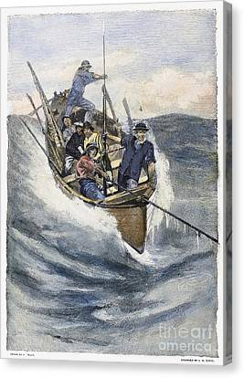 Whaling, 19th Century Canvas Print