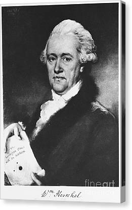 William Herschel, German-british Canvas Print by Science Source