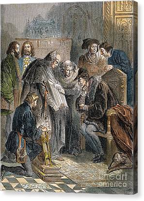 William Tyndale (1492?-1536) Canvas Print by Granger