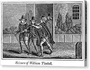 William Tyndale Canvas Print by Granger