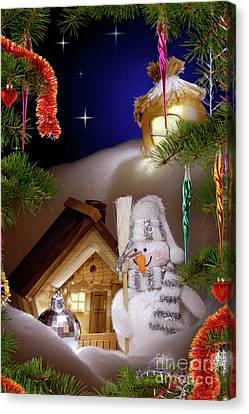 Wonderful Christmas Still Life Canvas Print by Oleksiy Maksymenko