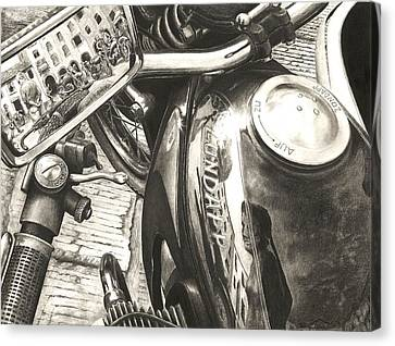 Zundapp K800 Canvas Print by Norman Bean
