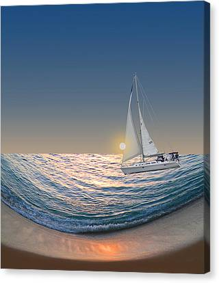 2004 Canvas Print by Peter Holme III