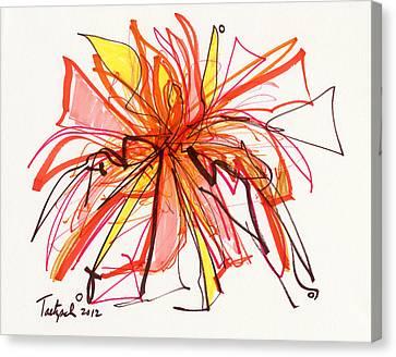 2012 Drawing #15 Canvas Print