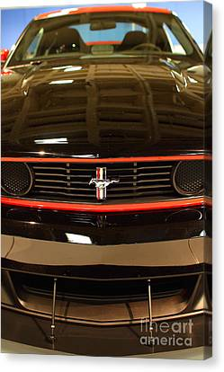 2012 Ford Mustang Boss 302 . 7d9656 Canvas Print by Wingsdomain Art and Photography