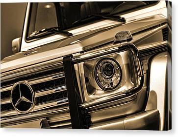 2012 Mercedes Benz G-class Canvas Print by Gordon Dean II