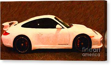 2012 Porsche 911 Carrera Gts Canvas Print by Wingsdomain Art and Photography
