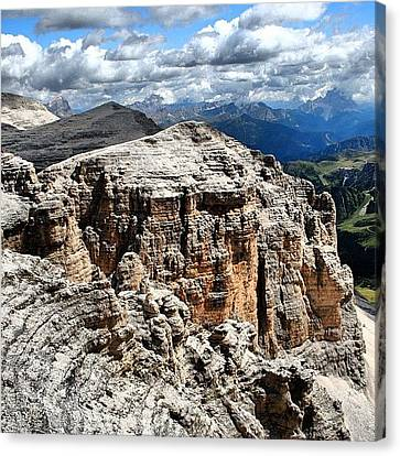 Dolomites Canvas Print by Luisa Azzolini